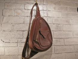 All Leather 'D' Bag (brown)