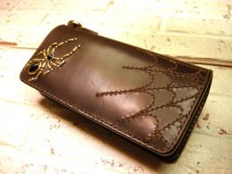 【手縫い】 SPIDER Long Wallet