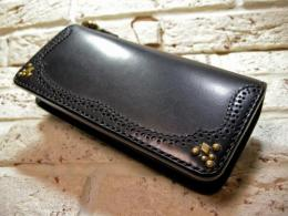 【手縫い】 Medallion Long Wallet